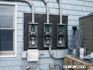 Three 200 amp disconnects on 600 amp service
