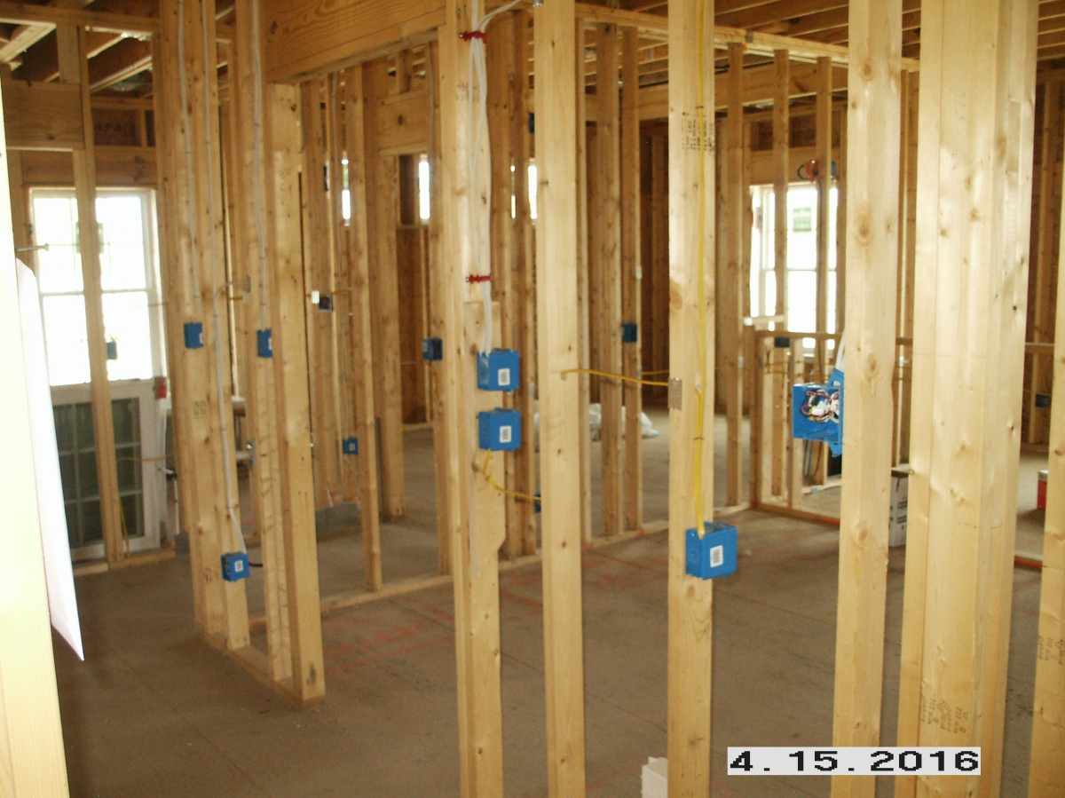 Gallery His Her Electric Llc Wiring Smoke Detectors New Construction Switch And Outlet Boxes Mounted Wired 1